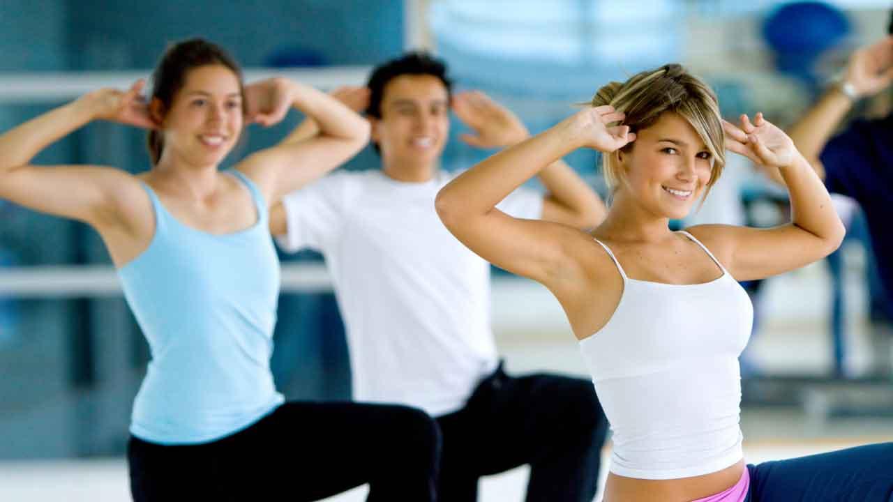Аэробика для похудения комплекс упражнений под музыку
