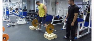 Как делать становую тягу с плинтов.