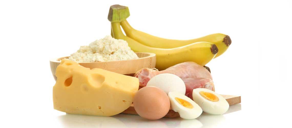 Рацион питания для набора массы