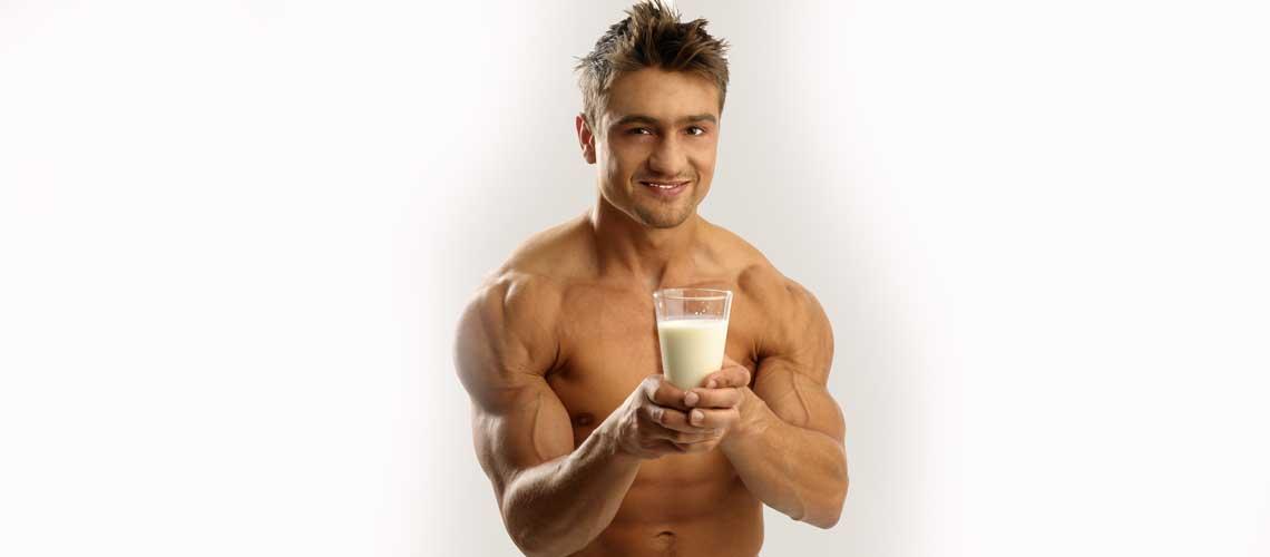 Роль молока в бодибилдинге