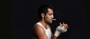 Тренировки и курение