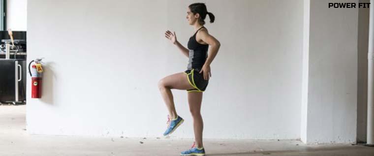 """Упражнение """"бег на месте"""": сколько калорий можно сжечь за час."""